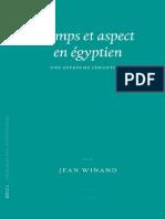 Winand J. Temps et Aspect en Égyptien