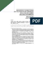 PRONÓSTICO Y ESTRUCTURAS DE VOLATILIDAD MULTIPERÍODO DE LA TASA DE CAMBIO DEL PESO COLOMBIANO