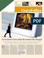 Le Louvre Lens Abat Les Murs Du Temps