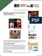 9 Maneiras para acelerar a fase de cutting e perder mais gordura.pdf