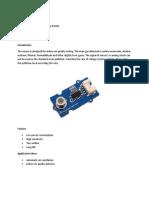 Seeedstudio Grove Air Quality Sensor
