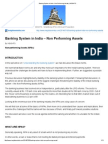 Banking System in India – Non Performing Assets _ INSIGHTS