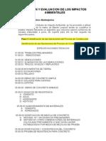 Prediccion y Evaluacion de Impacto Ambiental