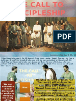 2nd Quarter 2015 Lesson 4 Powerpoint Presentation the Call to Discipleship