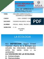 Resumen Sobre Ecologia