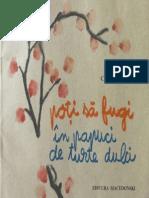 Carmen Firan - Poti Sa Fugi in Papuci de Turte Dulci