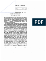 Journal of Semitic Studies Volume 1 Issue 3 1956 [Doi 10.1093%2fjss%2f1.3.193] Reicke, Bo -- The Knowledge Hidden in the Tree of Paradise