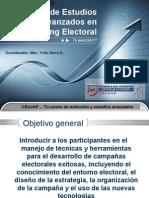 Presentación Programa Estudios Avanzados en Marketing Electoral- CEUJAP 2010