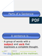 Parts of a Sentence.ppt