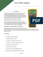 Fluke 179 True RMS-Digital Multimeter