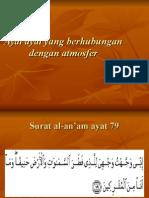Ayat Ayat Yang Berhubungan Dengan Atmosfer