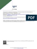 Interpretation of metameric architecture in dominant shrubs of the chilean matorral