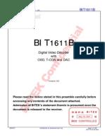 W-DS-0004-A0 BIT1611B