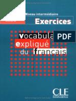 Vocabulaire Expliqué Du Français Niveau Intermédiaire