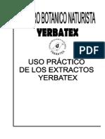Uso Practico de Extractos Yerbatex