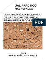 Manual Práctico Sobre La Macrofauna Del Suelo