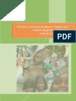 2.- Norma y Protocolo de Atención Integral a La Violencia de Género, Intrafamiliar y Sexual Por Ciclos de Vida 2011