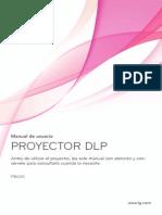 Manual Proyector LG