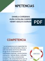 Diapositivas de COMPETENCIAS