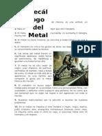 Decalogo Del Metal