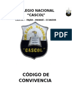 Codigo de Convivencia Colegio Cascol