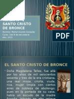 TAREA Nº 1 Santo Cristo de Bronce