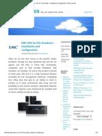 EMC VNX for File Simulator – installation and configuration.pdf