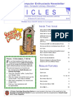 Icicles Newsletter December 2008