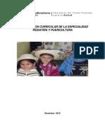Armonización Especialidad Pediatria y Puericultura