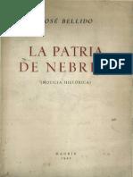 La Patria de Nebrija Noticia Historica