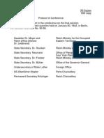 Wannsee Protokol