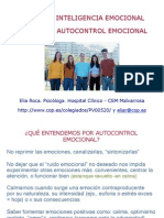 Autocontrol Emocional. Power. E Roca