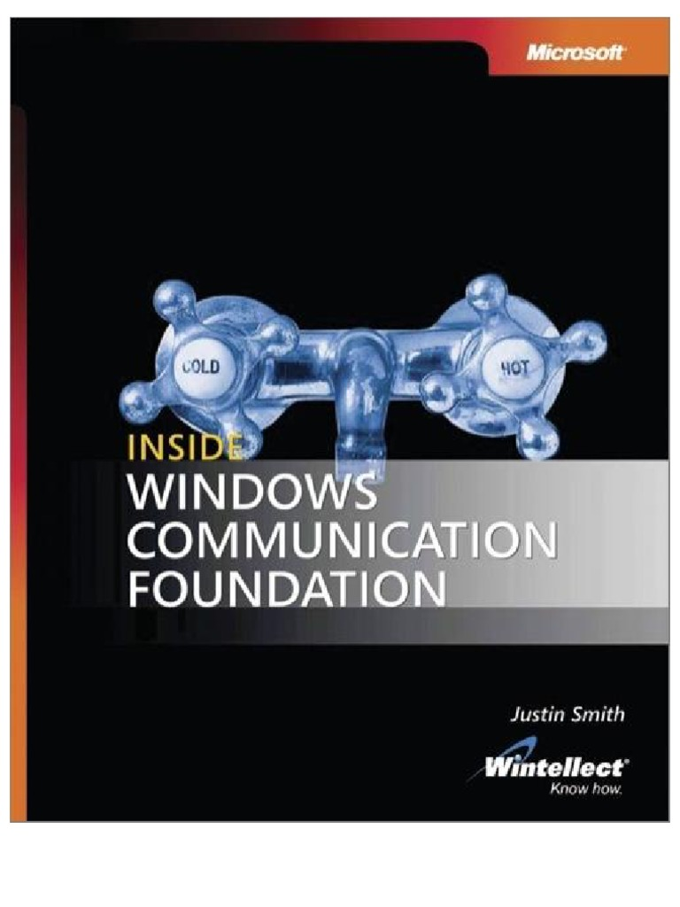 internal business letter format%0A Inside Microsoft Windows Communication Foundation   Windows Communication  Foundation   Service Oriented Architecture