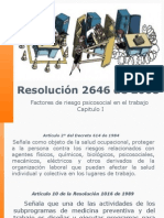 Resolución 2646 de 2008