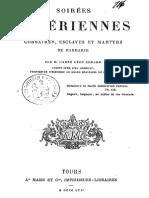 Godard Léon - Soirées Algériennes, Corsaires, Esclaves Et Martyrs de Barbarie