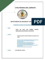 Texto Guia Resumen Comunicaciones ESPE