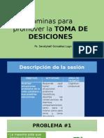 Láminas Para Promover La TOMA de DESICIONES