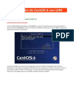 001 - Instalación de CentOS 6 Con LVM