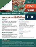 Protección catodica corriente impresa