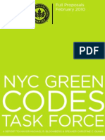 GREEN CODES TASKFORCE REPORT - February 2010