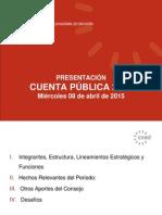 Presentacion Cuenta Publica 2014