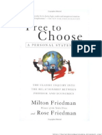 Milton Friedman - Free to Choose Cap. 1-4