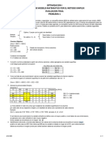 Modelo Matematico Metodo Simplex