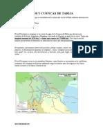 Rios y Cuencas de Tarija Final