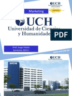 UCH Marketing 20015-I Unidad I