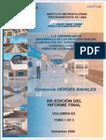 Exp Tecnico Construccion Estacion Central Vol III