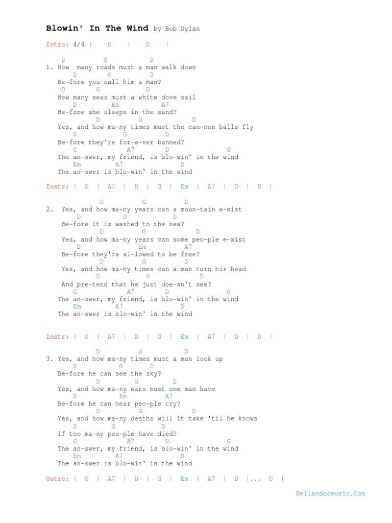 Wind akkorde im text und STIMMEN IM