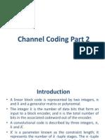 Channel Coding Part 2