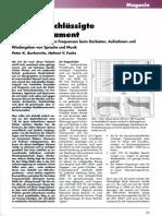 Peter K. Burkowitz - Das vernachlässigte Bass-Fundament
