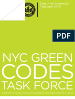 Green Codes Taskforce - Executive Summary